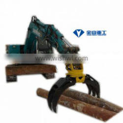 5 ton Sunward Excavator Grapple, Hydraulic Grapple, Rotating Grapple, Grabs, Woods Log Grapple