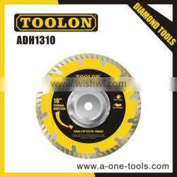 Cold-Pressed Segmented Turbo Saw Blade With Flange