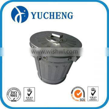 small bucket garbage tin containers