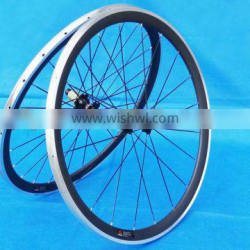 FLX-WS-CW013 Full Carbon Road Bike 700C Clincher Wheelset 38mm with Alloy Brake Surface