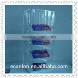 Custom PMMA Display Cabinet Acrylic Display Cases For Wholesales