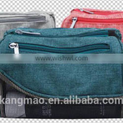 china supplier polyester cosmetic bag BSCI AUDIT