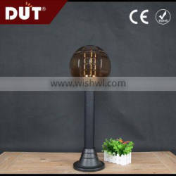 china supplie multiple-use garden decorative acrylic plastic globe lawn lamp