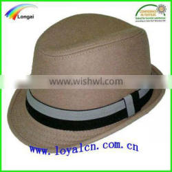 popular fedora hats with high quality