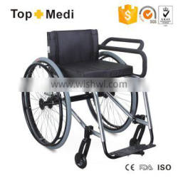 Topmedi Leisure and Sports Handicapped Wheelchair for Fencing/Silla de ruedas deportiva de Esgrima para los discapacitados