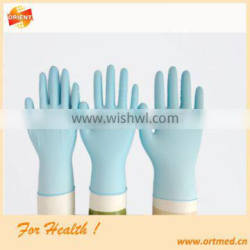 dark blue powder free disposable nitrile gloves with CE