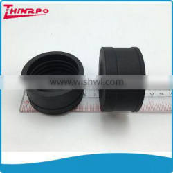 OEM square / round silicone rubber tube end capsrubber cap for round pipe end caps for pipe