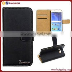 Genuine leather flip cover for samsung galaxy s6