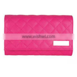 PU Leather Makeup Case Red Cosmetic Bag Best Quality Makeup Pouch