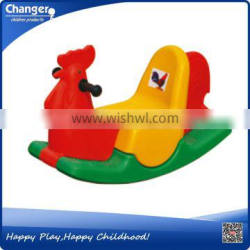 daycare kids plastic kids rocking horse in China