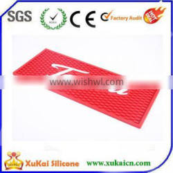 silicone and soft PVC bar mat