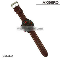 High Quality Leather men Wrist Leather watches sports watch