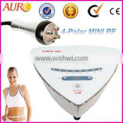 AU-38A Radio Frequency 5 mhz multi polar body RFdeep heating body slimming beauty Equipment