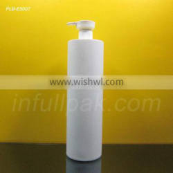 750ml Frosted White HDPE Bottle for shampoo