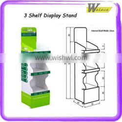 Clothes Display Cardboard pallet Display Stand for store