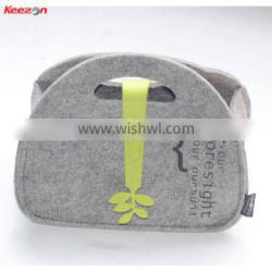 71060# cheap luxury felt cosmetic bag for promotion