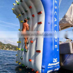 Hot selling inflatable climbing wall