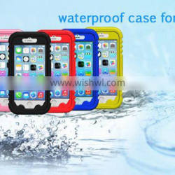 High quality wholesale mobile phone waterproof case for iphone 6/iphone 6s ,dustproof diving cell phone cover for iphone