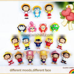 hot sale high quality costom face change doll key chain manufacturer
