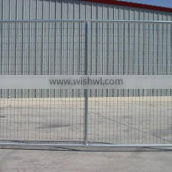 6ftX12ft metal iron temporary gardren fence panel produce / galvanized temporary construction wall fence design