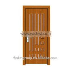 Surface finished with swing open style Interior PVC door