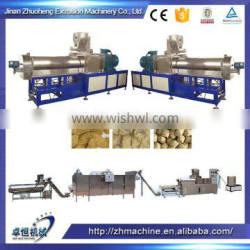 double screw extruder textured soya protein food forming machine