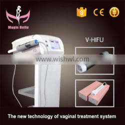 2000 Shots Ultrasound Hifu Chest Shaping Vaginal Tightening Machine 300W