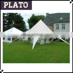 luxury high quality white star tent , star party tent for wedding event