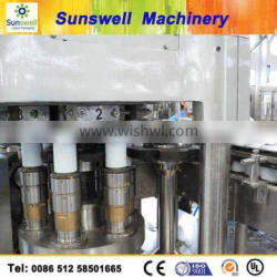 aluminum can for juice or carbonated soft drinks filling and sealing machine