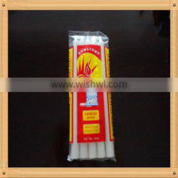household candle/ white paraffin wax candles/ colorful and white wax candle for daily lighting