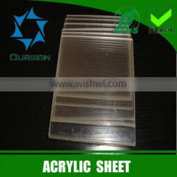 6mm cast acrylic sheet with 100% virgin lucite material