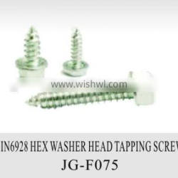 Din 6928 hex washer head tapping screw