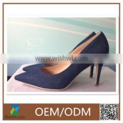 new arrival elegant 13cm high heel shoes for lady