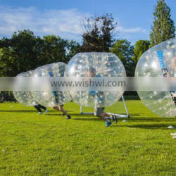 Hola inflatable bumper ball/human bowling ball/football bubble for sale