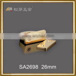 luxurious luggage parts for suitcases metal bag arch buckle