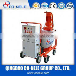 full automatic concrete diesel mortar plaster spraying machine