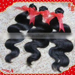 best-selling full cuticle 100% brazilian body wave human hair extension remy human hair