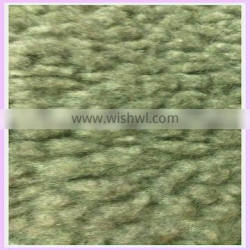 wool fabric 80 wool 20 polyester knitted wool fabric sherpa faux fur raw material for shoe making china supplier