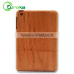 Hight quality products natural wooden hard shockproof tablet case for IPad mini