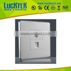 rj45/TV wall face plate integrated type