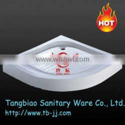 Good quality white rectangle low shower tray