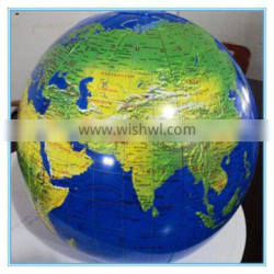 Giant inflatable globes, customized size pvc inflatable globe beach ball
