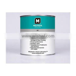Molykote 41 Grease - Silicone grease for very high temperature application at low speeds.