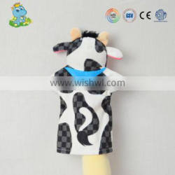China supplier Plush animal hand puppet for sale