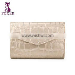 ladies beautiful leather wallet with change purse multifunction purse