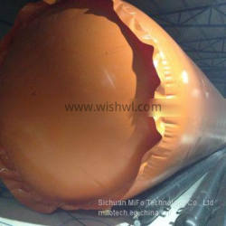 Specialized and Customized biogas storage bag for home biogas plant