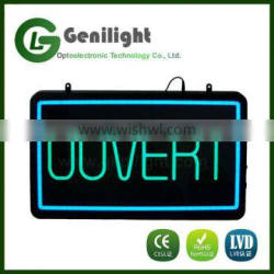 Newest LED Neon Sign 22*13 Inch Rectangle Shape
