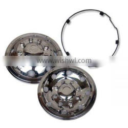19.5''s/s bus wheel cover stainless steel wheel nut covers