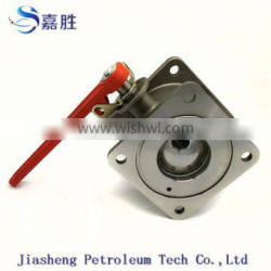 High Quality Stainless Steel Flange Ball Valves
