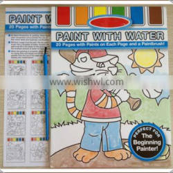 painting books with water color